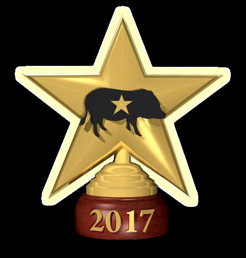 Charming Mini Pigs awarded AMPA Gold Star Breeder award